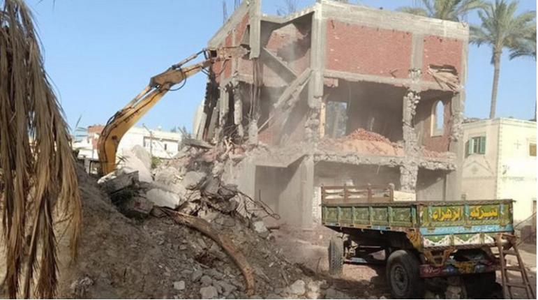 Egipt: Zburzono budynek kościoła, ksiądz pobity do nieprzytomności