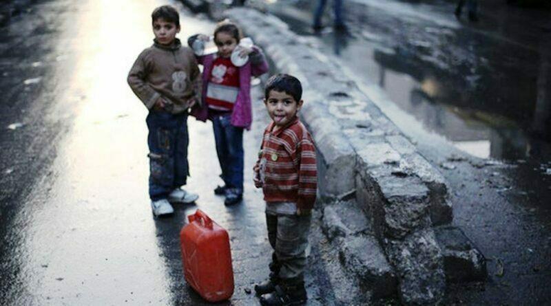 Przejaw barbarzyństwa-Turcja odcięła północną Syrię od wody