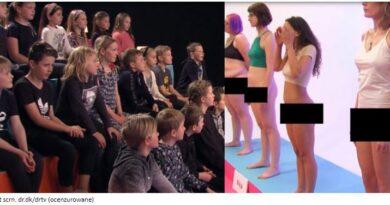 Ekshibicjonizm w duńskiej telewizji dla dzieci