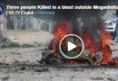 Sobota: Atak bombowy dżihadystów w Somalii. Co najmniej cztery osoby zginęły!