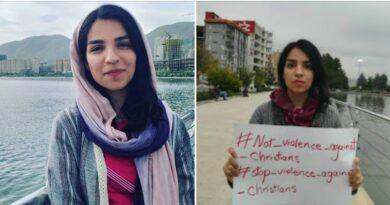 Mary Mohammadi: 3 miesiące więzienia oraz 10 batów za udział w proteście o prawa człowieka i za jej działalność chrześcijańską.