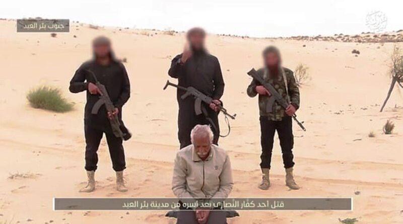"""ISIS w Egipcie dokonało egzekucji na 62-letnim koptyjskim mężczyźnie ,,jako ostrzeżenie"""" dla chrześcijan w tym kraju"""